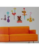 Набор декора Zolo Deco Wall Decor Stickers